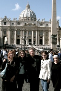 ... to St. Peter's Square!
